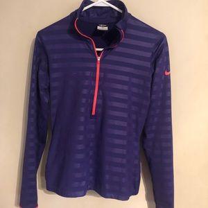 Nike lined shirt